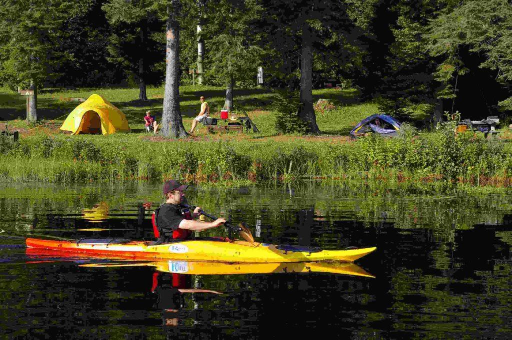 Camping Réserve faunique de Rimouski