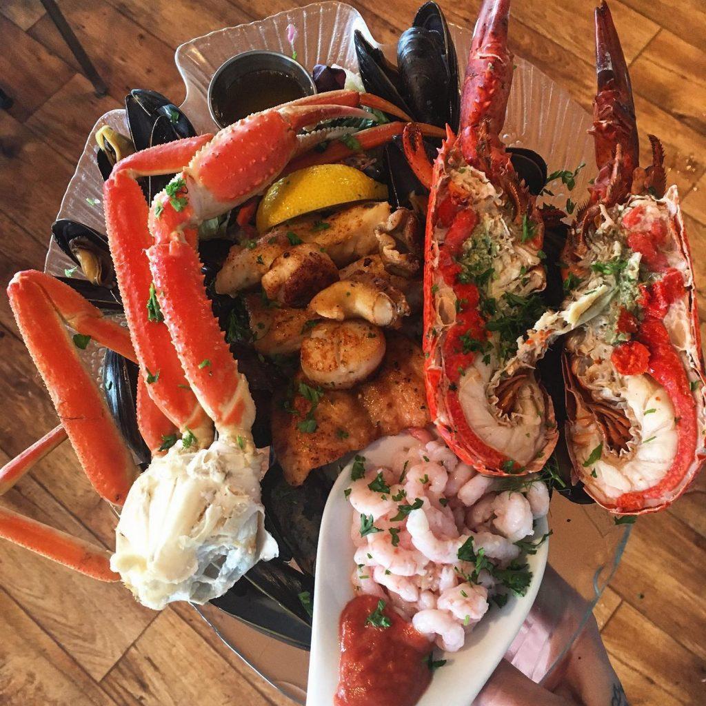 Restaurant du phare - assiette du pêcheur