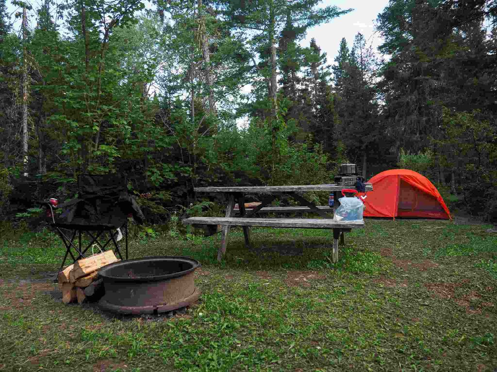 Camping terfa