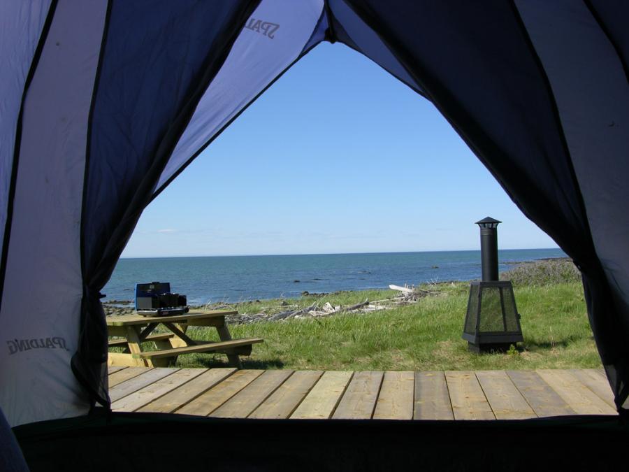 Camping de l'Île Saint-Barnabé