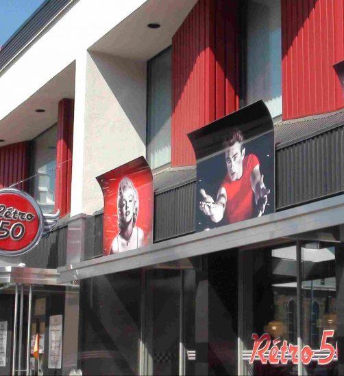 Rétro 50 – Restaurant Rétro 50