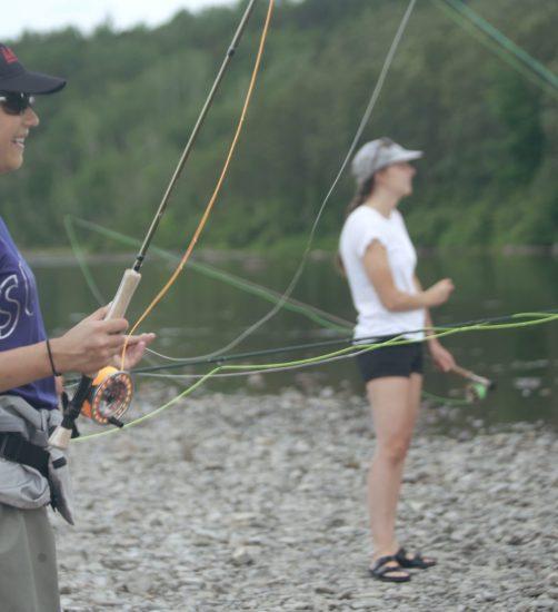 Pêche au saumon - Rivière Rimouski – Zec Saumon de Rimouski